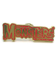 Image: Famous Monsters Logo Pin  - Famous Monsters of Filmland