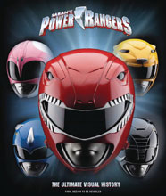 Image: Power Rangers Ultimate Visual History HC  - Insight Editions