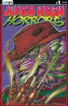 Image: Junior High Horrors #1 (cover C - Frederick) - Keenspot Entertainment