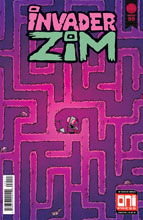 Image: Invader Zim #35 (cover A - Fred Stresing, Warren Wucinich) - Oni Press Inc.