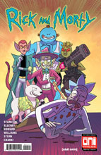 Image: Rick & Morty #42 (cover A - Marc Ellerby) - Oni Press Inc.