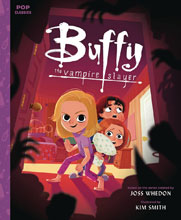 Image: Buffy the Vampire Slayer Pop Classic Illustrated Storybook HC  - Quirk Books