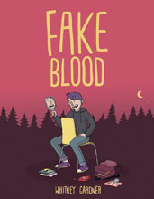 Image: Fake Blood GN HC  - Simon & Schuster Books Young R