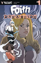 Image: Faith: Dreamside #1 (cover A - Sauvage) (Web Super Special) - Valiant Entertainment LLC