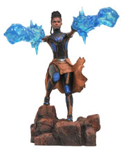 Image: Marvel Gallery PVC Statue: Black Panther Movie - Shuri  - Diamond Select Toys LLC