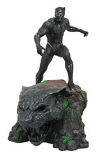 Image: Marvel Milestones Statue: Black Panther Movie  - Diamond Select Toys LLC