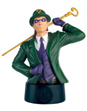 Image: DC Batman Universe Bust Collectible #11 (Riddler) - Eaglemoss Publications Ltd