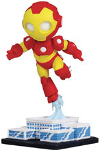 Image: Marvel Mini-Heroes Animated PVC Statue: Iron-Man  - Gentle Giant Studios