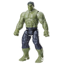 Image: Avengers 12-Inch Titan Hero Movie Deluxe Hulk Action Figure Case  - Hasbro Toy Group