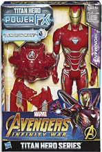 Image: Avengers 12-Inch Titan Hero Power Fx Iron Man Action Figure Case  - Hasbro Toy Group
