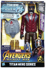 Image: Avengers 12-Inch Titan Hero Power Fx Star-Lord Action Figure Case  - Hasbro Toy Group
