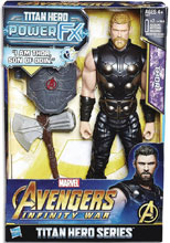 Image: Avengers 12-Inch Titan Hero Power Fx Thor Action Figure Case  - Hasbro Toy Group