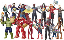 Image: Avengers 6-Inch Action Figure  (w/Infinity Stone) Asstorment - Hasbro Toy Group