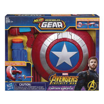 Image: Avengers Assembler Gear Captain America Case  - Hasbro Toy Group