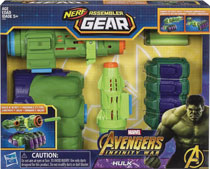 Image: Avengers Assembler Gear Hulk Case  - Hasbro Toy Group