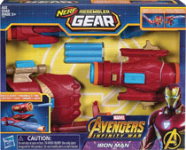 Image: Avengers Assembler Gear Iron Man Case  - Hasbro Toy Group