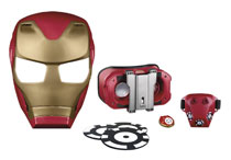 Image: Avengers Hero Vision Iron Man AR Mask  - Hasbro Toy Group