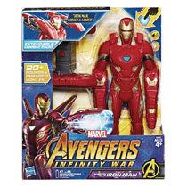 Image: Avengers Mission Tech Iron Man Action Figure Case  - Hasbro Toy Group