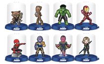 Image: Avengers Infinity War Domez 24-Piece Blind Mystery Box Display  - Ucc Distributing