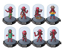 Image: Deadpool Series 3 Domez 24-Piece Blind Mystery Box Display  - Ucc Distributing