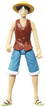 Image: One Piece Action Figure: Luffy  (4-inch) - Abysse America Inc