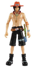 Image: One Piece Action Figure: Ace  (4-inch) - Abysse America Inc