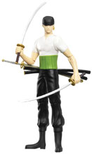 Image: One Piece Action Figure: Zoro  (4-inch) - Abysse America Inc
