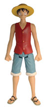 Image: One Piece Action Figure: Luffy  (12-inch) - Abysse America Inc
