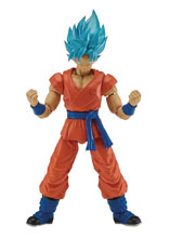 Image: Dragonball Super Dragon Stars Action Figure SS Blue Goku Solid Case  - Bandai America