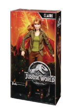 Image: Barbie Jurassic World Claire Doll Case  - Mattel Toys