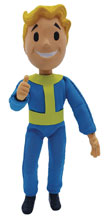 Image: Fallout Action Figure: Vault Boy Mego Style  (1:9 Scale) - Spherewerx