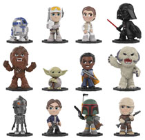 Image: Mystery Minis Star Wars Empire Strikes Back 12-Piece Blind Mystery Box Display  - Funko