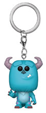 Image: Pocket Pop! Monsters Inc. Vinyl Figure Keychain: Sulley  - Funko