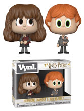 Image: Vynl Harry Potter Vinyl Figure: Ron & Hermoine  (2-Pack) - Funko