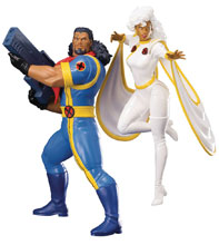 Image: Marvel Universe Artfx+ Statue: X-Men 92 - Bishop & Storm  (2-Pack) - Koto Inc.
