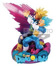 Image: Dragonball Super MS Diorama II Vegeta & Trunks Brush II  - Banpresto