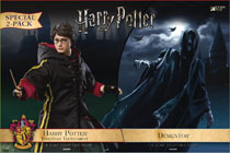 Image: Harry Potter & the Goblet of Fire Collectible Action Figure: Dementor  (w/Harry) (2-Pack) (1/8 Scale) - Star Ace Toys Limited
