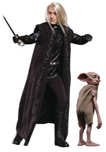 Image: Harry Potter & the Goblet of Fire Collectible Action Figure: Lucius Malfoy  (w/Dobby) (1/6 Scale) - Star Ace Toys Limited