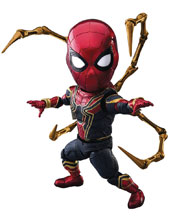 Image: Avengers 3: Infinity War EAA-060 Action Figure: Iron Spider  - Beast Kingdom Co., Ltd