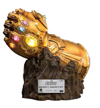 Image: Avengers 3: Infinity War MC-004 Statue: Infinity Gauntlet Replica  - Beast Kingdom Co., Ltd
