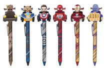Image: Avengers 3: Infinity War Pull Back Car Pen Series 12-Piece Display  - Beast Kingdom Co., Ltd