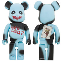 Image: Dark Knight Trilogy the Joker Bearbrick: 1000  (Why So Serious version) - Medicom Toy Corporation