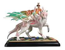 Image: Okami Shiranui Resin Statue  (14-inch) - First 4 Figures
