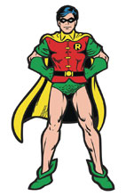 Image: Figpin Batman Classic Comics Robin Pin 6-Piece Case  - Cmd Collectibles