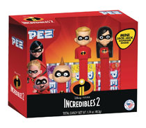 Image: Incredibles Tri-Pack Gift Set 6-Piece Display  - Pez Candy Inc