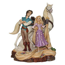 Image: Disney Traditions Figure: Tangled Carved by Heart  - Enesco Corporation