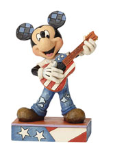 Image: Disney Traditions Figure: USA Rock and Roll Mickey  - Enesco Corporation