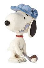Image: Peanuts Figure: Snoopy Golfer  (Mini) - Enesco Corporation