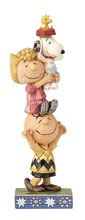 Image: Peanuts Figure: Stacked Characters  - Enesco Corporation
