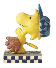 Image: Peanuts Figure: Woodstock in the Outfield  - Enesco Corporation